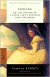 Evelina - Fanny Burney, Elizabeth Wallace, Elizabeth Kowaleski Wallace
