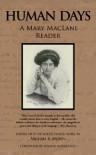 Human Days: A Mary MacLane Reader - Bojana Novakovic, Michael R. Brown, Mary MacLane