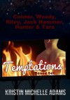 Connor, Woody, Riley, Jack Hammer, Hunter, & Tara (Temptations Boxed Set) - Kristin Michelle Adams