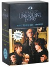 The Trouble Begins, Movie Tie-in Edition: A Box of Unfortunate Events, Books 1-3 (The Bad Beginning; The Reptile Room; The Wide Window) - Lemony Snicket