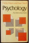 Psychology: An Introduction - Nicky Hayes, Sue Orrell
