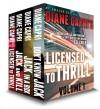 Licensed to Thrill: Volume 1 (Hunt for Jack Reacher Mystery Thriller Boxed Set) - Diane Capri