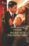 Paper Marriage Proposition - Red Garnier
