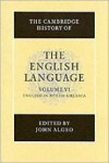The Cambridge History of the English Language - John Algeo, Richard M. Hogg