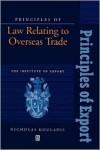 Principles of Law Relating to Overseas Trade - Nicholas Kouladis