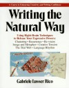 Writing the Natural Way - Gabriele Lusser Rico