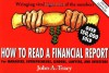 How to Read a Financial Report - John A. Tracy