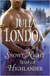 Snowy Night with a Highlander - Julia London