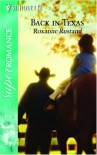 Back in Texas - Roxanne Rustand