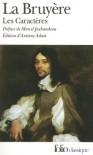Les caractères - Jean de La Bruyère