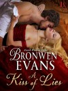 A Kiss of Lies - Bronwen Evans
