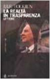 La realtà in trasparenza: Lettere - J.R.R. Tolkien, J.R.R. Tolkien, Humphrey Carpenter, Cristina De Grandis