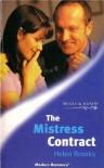 The Mistress Contract - Helen Broooks