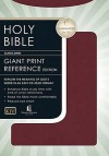Holy Bible: King James Giant Print Reference Bible - Anonymous