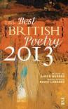 The Best British Poetry 2013 - Ahren Warner