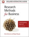 Research Methods for Business: A Skill-Building Approach - Uma Sekaran