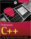 Professional C++ (Wrox Professional Guides) - Marc Gregoire, Nicholas A. Solter, Scott J. Kleper