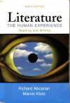 Literature: The Human Experience - Richard Abcarian;Marvin Klotz