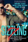 Sizzling 7: Super Sexy New Adult Romance Boxed Set - Cari Quinn, Brenna Aubrey, M. Malone, Suzan Butler, Marie Hall, Molly McLain, Violet Vaughn