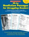 Hi-Lo Nonfiction Passages for Struggling Readers: Grades 4�5: 80 High-Interest/Low-Readability Passages With Comprehension Questions and Mini-Lessons for Teaching Key Reading Strategies - Maria Chang