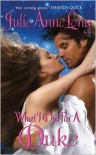 What I Did For a Duke (Pennyroyal Green Series #5) -