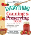 The Everything Canning and Preserving Book: All you need to know to enjoy natural, healthy foods year round (Everything (Cooking)) - Patricia J. Telesco, Jeanne P Maack