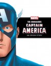 The Courageous Captain America: An Origin Story - Rich Thomas, Val Semeiks