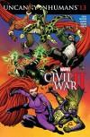 Uncanny Inhumans (2015-) #13 - Kim Jacinto, Charles Soule, Ryan Stegman, Carlos Pacheco
