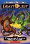 Vedra and Krimon the Twin Dragons (Beast Quest Special Edition, #2) - Adam Blade