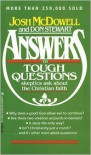 Answers to Tough Questions Skeptics Ask About the Christian Faith - Josh McDowell, Don Stewart