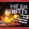Mean Streets - Jim Butcher, Simon R. Green, Kat Richardson, Thomas E. Sniegoski, Dion Graham, Richard Poe, Mia Baron, T. Ryder Smith