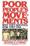 Poor People's Movements: Why They Succeed, How They Fail - Frances Fox Piven, Richard A. Cloward