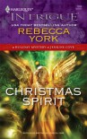 Christmas Spirit (A Holiday Mystery at Jenkins Cove) - Rebecca York