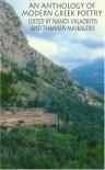 An Anthology of Modern Greek Poetry - Nanos Valaoritis