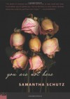 You Are Not Here - Samantha Schutz
