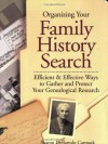 Organizing Your Family History Search - Sharon DeBartolo Carmack