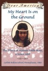 My Heart is on the Ground: the Diary of Nannie Little Rose, a Sioux Girl, Carlisle Indian School, Pennsylvania, 1880 - Ann Rinaldi