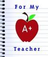 For My A+ Teacher - Ariel Books, Ariel Books