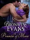 A Promise of More: The Disgraced Lords Series: A Loveswept Historical Romance - Bronwen Evans