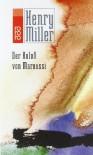 Der Koloß Von Maroussi. Eine Reise Nach Griechenland - Henry Miller