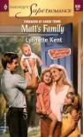 Matt's Family (Brennan Brothers, #2) - Lynnette Kent