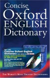 Concise Oxford English Dictionary -