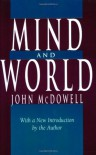 Mind and World - John Henry McDowell