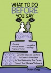 "What to Do Before You Say ""I Do"" - Susan Ziggy"