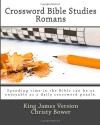 Crossword Bible Studies - Romans: King James Version - Christy Bower
