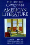 The Oxford Companion to American Literature - James David Hart, Phillip Leininger