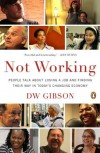 Not Working: People Talk About Losing a Job and Finding Their Way in Today�s Changing Economy - D.W. Gibson