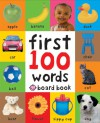 First 100 Soft to Touch Words (Board Book) - Roger Priddy