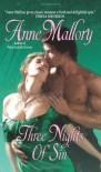 Three Nights of Sin - Anne Mallory