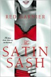 The Satin Sash - Red Garnier
